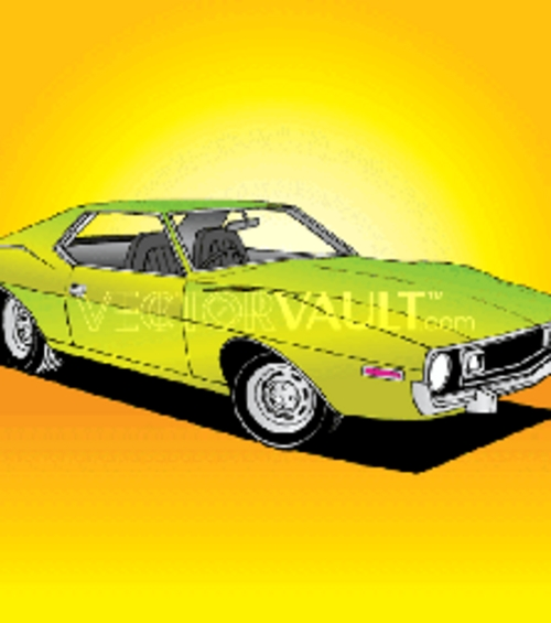 Product picture 70s Sports Car